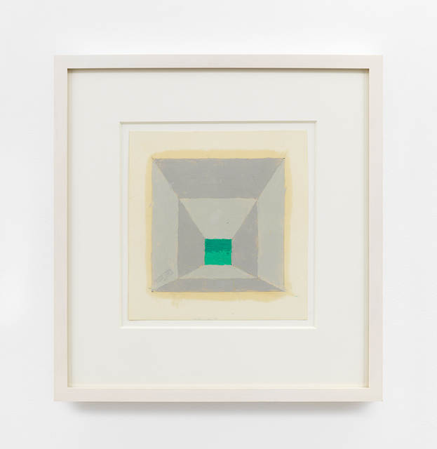 , 'Color study for a Mitered Square (Homage to the Square),' n.d., David Zwirner