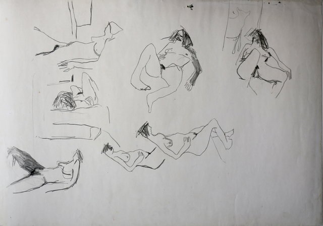 , 'From the strippers series,' 1985-1986, Gallery One