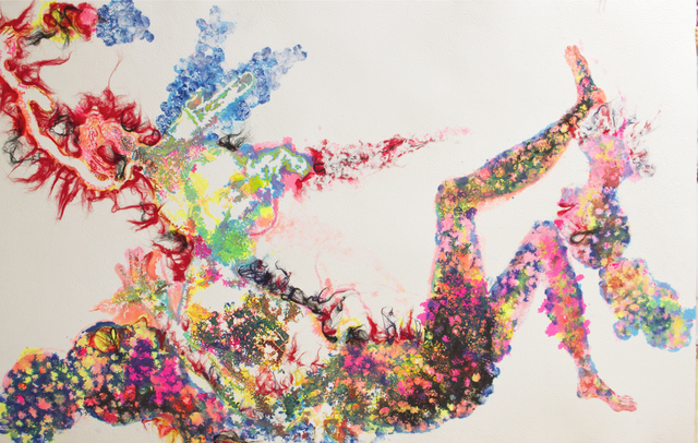 , 'Never Give Up: Bubble Series #2,' 2014, STPI