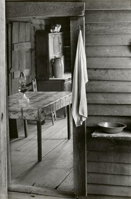 , 'Washroom and Dining Area of Floyd Burroughs' Home, Hale County, Alabama,' 2936, Edwynn Houk Gallery