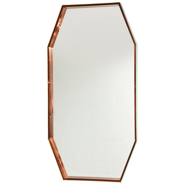 , 'Octagonal wall mirror #2355,' ca. 1967, Donzella LTD