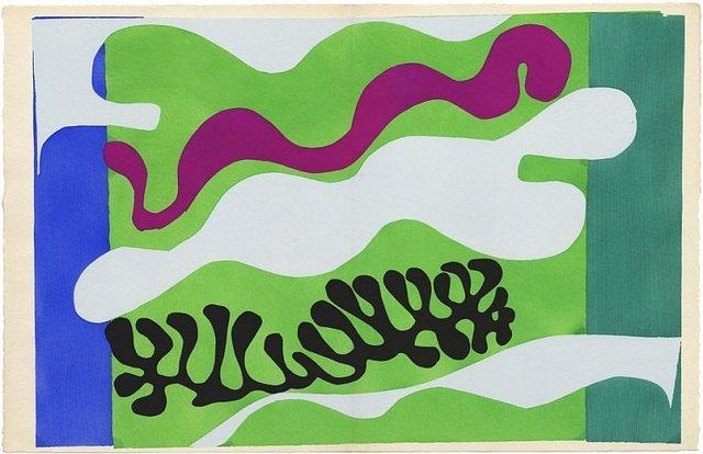 , 'Le Lagon II from Jazz,' 1947, Rosenfeld Gallery