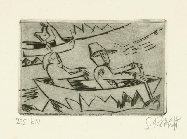 , 'Ruderer,' 1921, Charles Nodrum Gallery