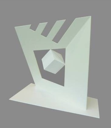 , 'Tres blanco con cubo,' , Mark Hachem Gallery