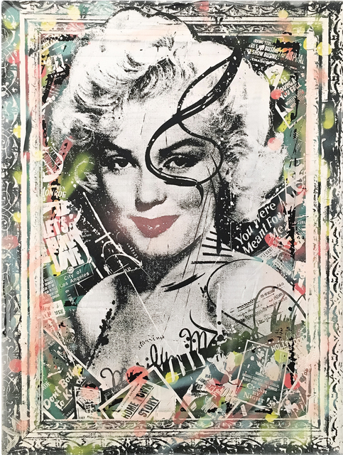 , 'Marilyn Monroe,' 2016, The McLoughlin Gallery