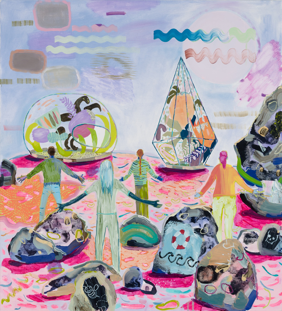 , 'The New Gods,' 2018, Asya Geisberg Gallery