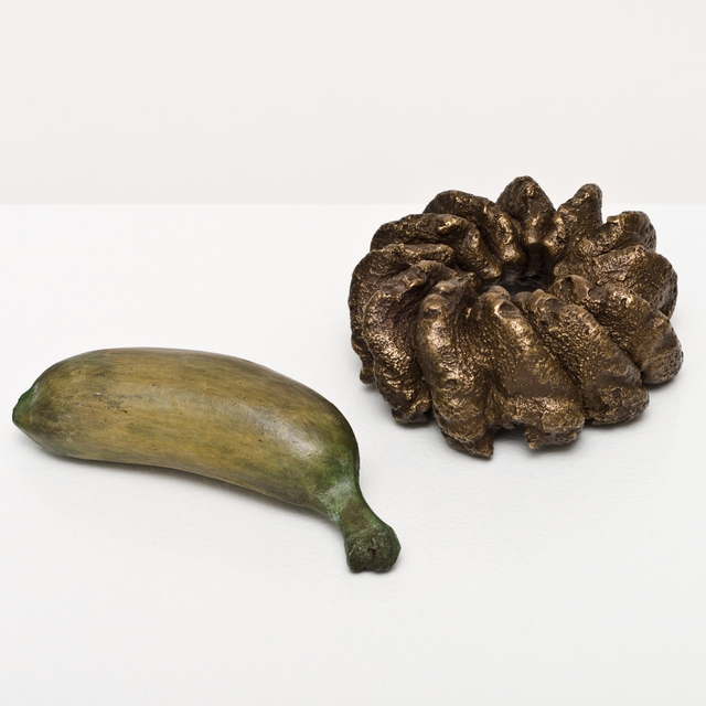 , 'cruller and plaintain,' 2015, Lora Reynolds Gallery