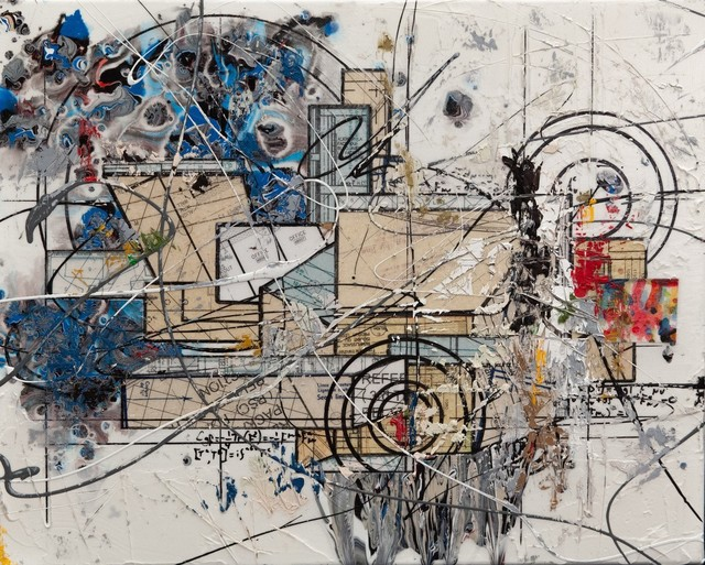 Étienne Gélinas, 'Composition 566', 2020, Mixed Media, Mixed media on canvas, Thompson Landry Gallery