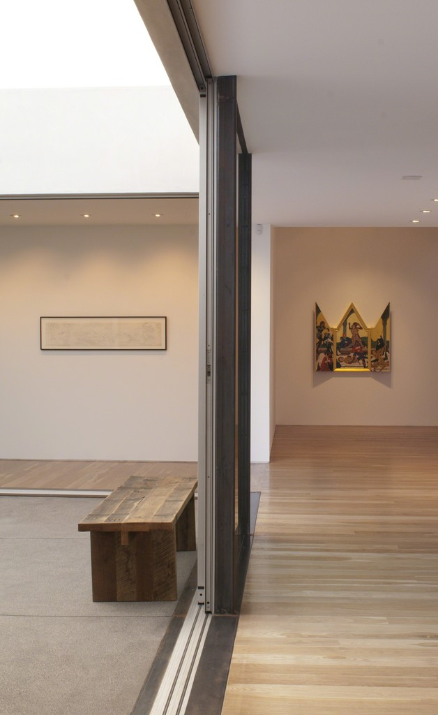 """Installation view of Masami Teraoka, """"The Cloisters Last Supper,"""" 2012"""