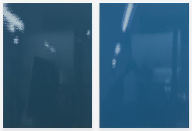 Kate Shepherd, 'Grove (bolts)', 2019, Painting, Enamel on panel, Galerie Lelong & Co.