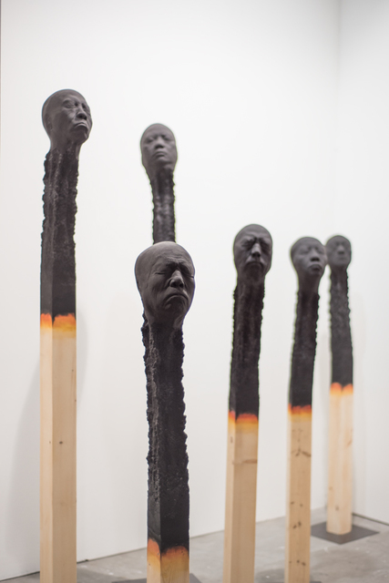 , 'Matchstickmen,' , Mark Hachem Gallery