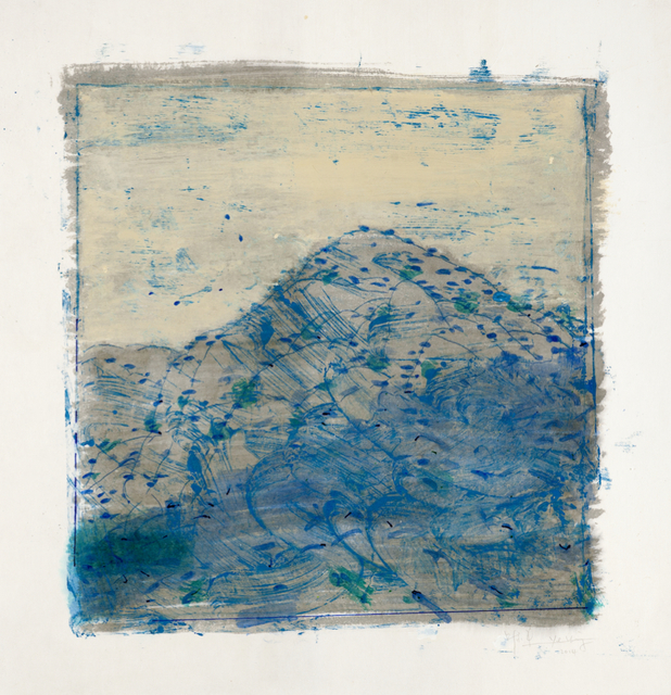 , 'Mountain Script No. 3,' 2014, Amy Li Gallery