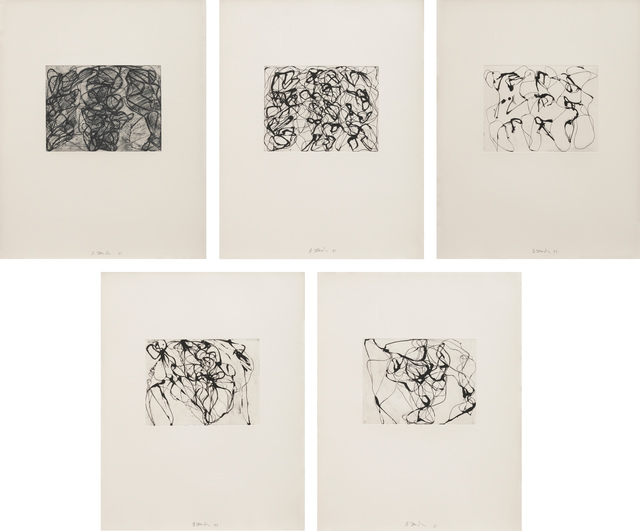 , 'After Botticelli: 1-5,' 1993, Susan Sheehan Gallery