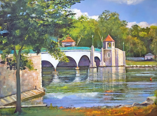 , 'Glen Island Bridge, New Rochelle,' 2016, Madelyn Jordon Fine Art