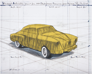 Christo and Jeanne-Claude, 'Wrapped Automobile (Project for 1950 Studebaker Champion Series 9G Coupe),' 2015, Phillips: Evening and Day Editions