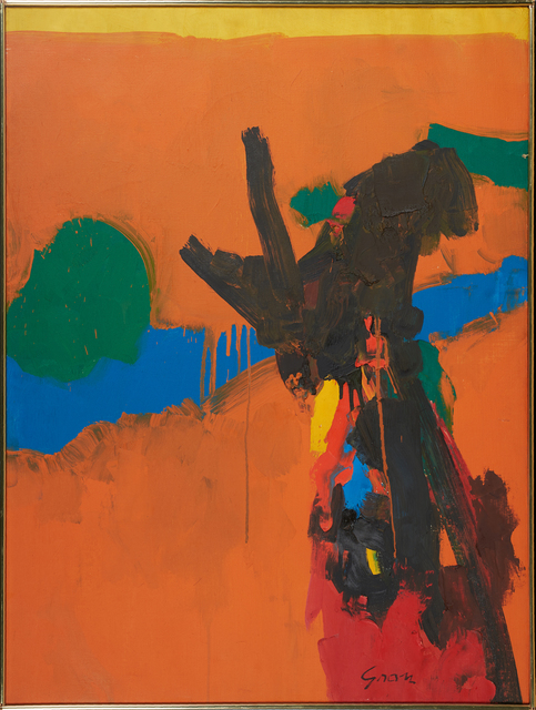 Sidney Gross, 'Untitled', Painting, Oil on canvas (framed), Rago/Wright