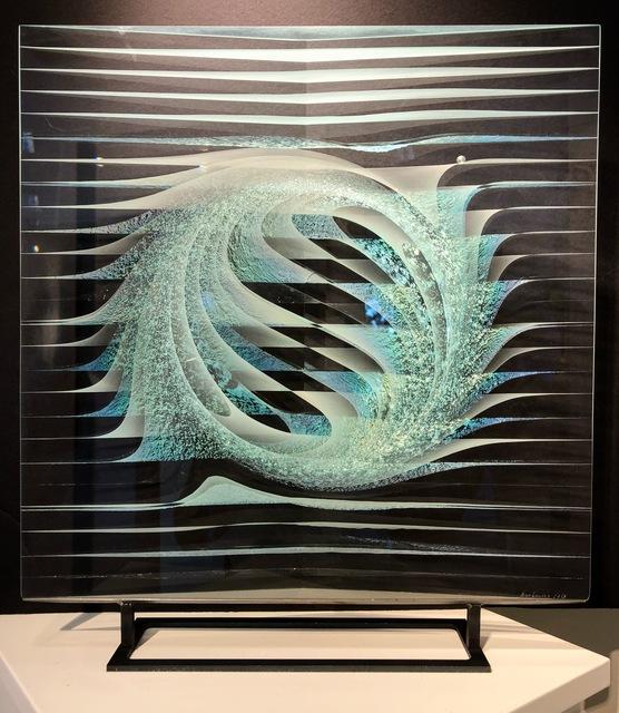 Peter Borkovics, 'Rising Sun', 2018, Sculpture, Cast floatglass, Avran Fine Art