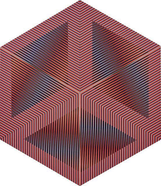 Carlos Cruz-Diez, 'Color Aditivo Permutable Serie D', 1982, Phillips
