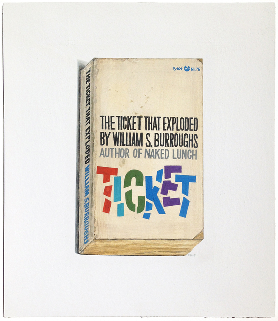 , 'The Ticket That Exploded,' 2015, Arthur Roger Gallery