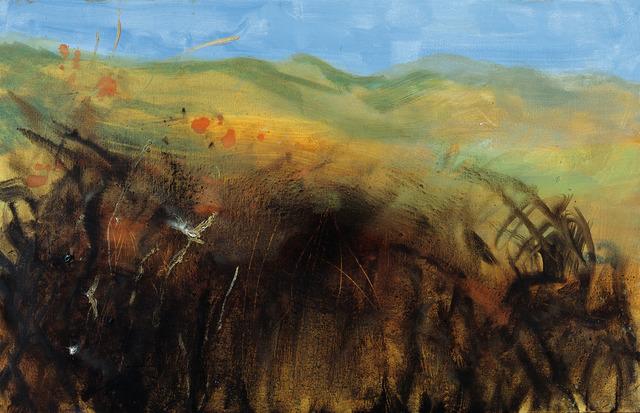 , 'Herbstlandschaft (Autumn Landscape), Sylt,' 2012, Galerie Herold