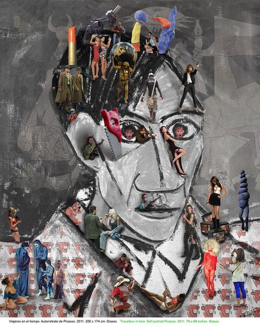 , 'Pablo Picasso,' 2011, Galeria Contrast