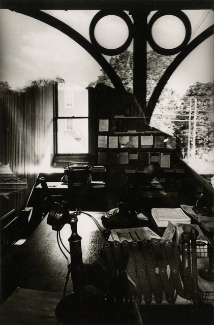 Ralph Gibson, 'untitled (office desk and window)', 1965, Etherton Gallery