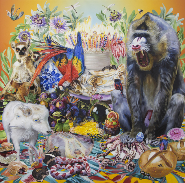 , 'The Tower of Babel, Mandrill,' 2019, Hollis Taggart