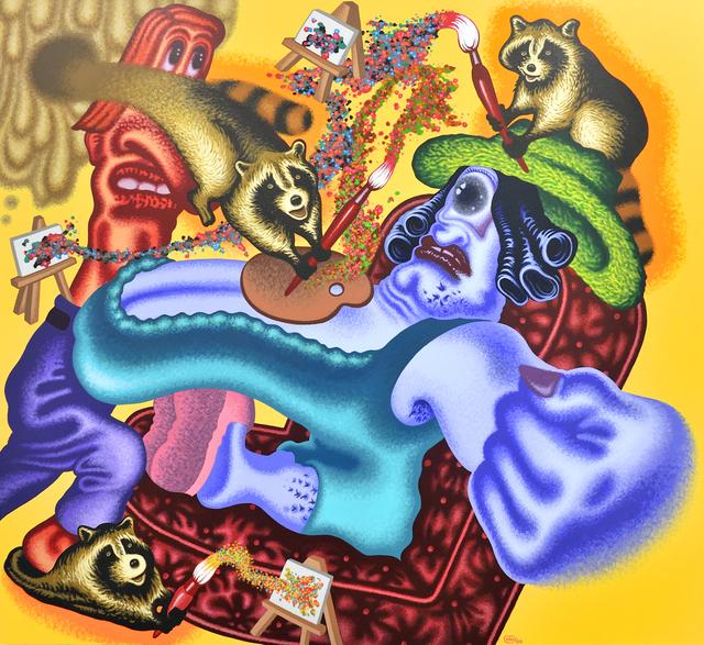 , 'Raccoon Artist Surprises the Art World,' 2009, Gary Tatintsian Gallery