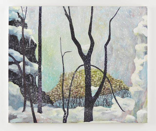 , 'Snow,' 2014, Klowden Mann