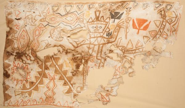 , 'Painted  ChancayTextile,' 100-1470, Muzeion Gallery