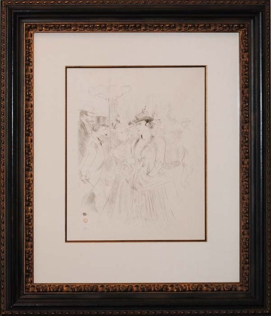 Henri de Toulouse-Lautrec, 'Promenoir', ca. 1899, Print, Lithograph, Contessa Gallery