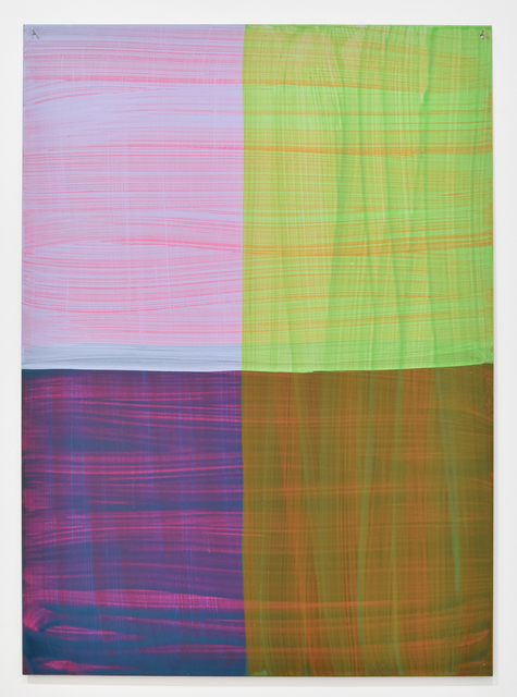 Katharina Grosse, 'Untitled', 2001, Painting, Acrylic on aluminium, Gow Langsford Gallery