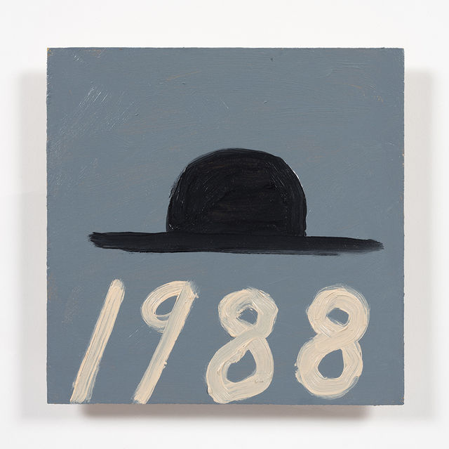 , 'Hat with Date,' 2019, Steve Turner