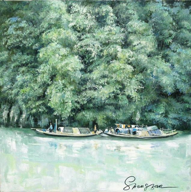 , 'Home in a river,' 2003, A-Art Shengzan Gallery