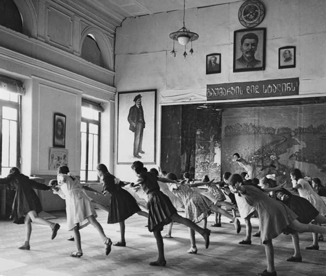 , 'Class in Tiflis,' 1947, Ira Stehmann Fine Art Photography
