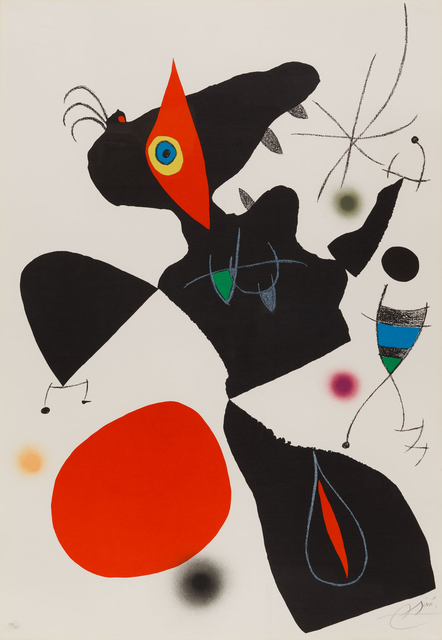 Joan Miró, 'Oda a Joan Miro', 1973, Christopher-Clark Fine Art