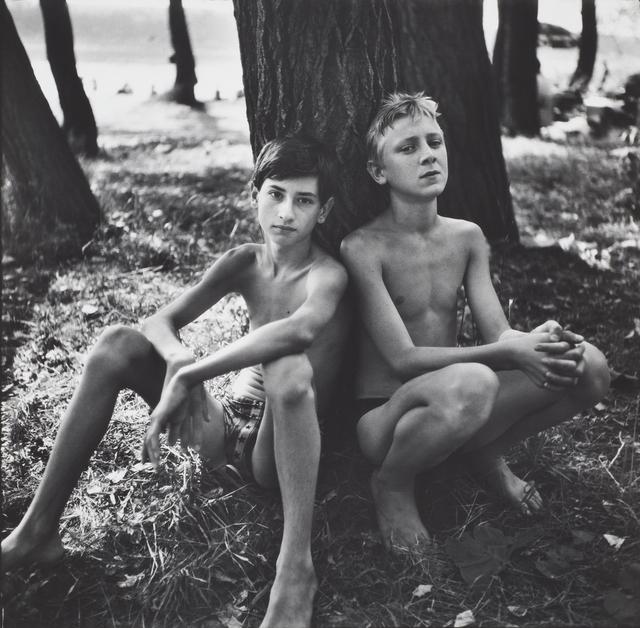 Nikolay Bakharev, 'Relationship #86', 1996, Photography, Gelatin silver print, Julie Saul Gallery