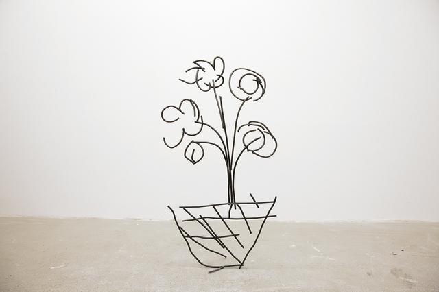 , 'Abetare (Flower Pot),' 2017, ChertLüdde