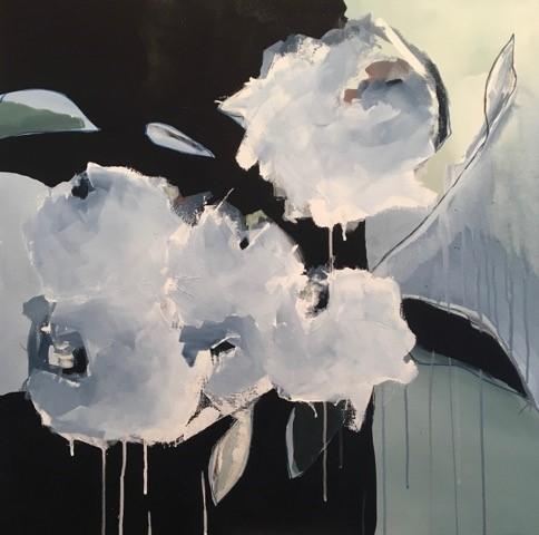 Virginie Bocaert, 'Baby blue ', 2019, Painting, Acrylic on canvas, Thompson Landry Gallery