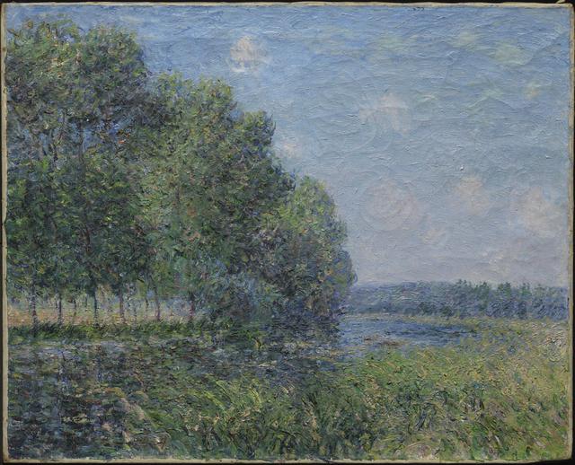 , 'River View,' 1889, Princeton University Art Museum