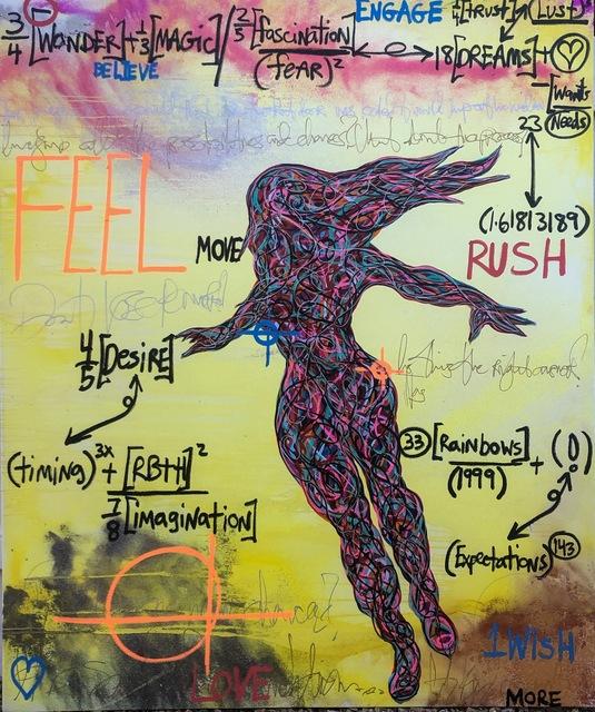 , 'Rush ,' 2019, Contessa Gallery