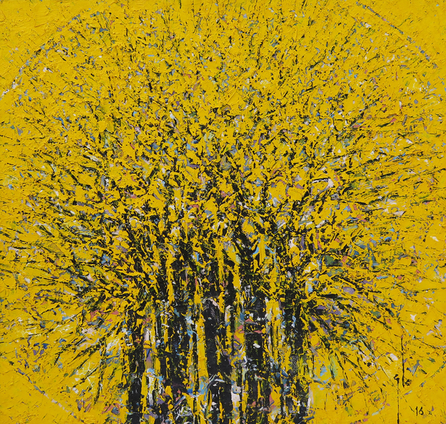 , 'Yellow forest A1,' 2016, Christopher Moller Gallery