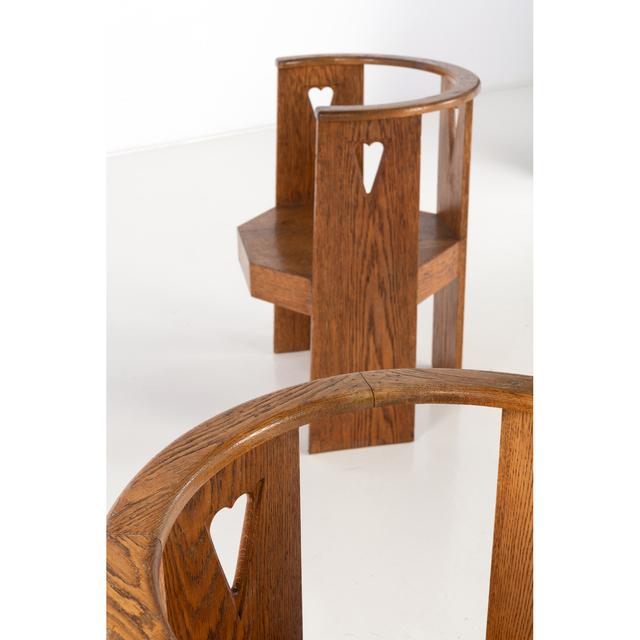 Eliel Saarinen, 'Pair of armchairs', Design/Decorative Art, Chêne, PIASA