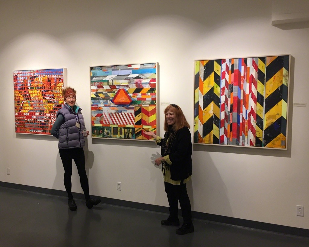 Peninsula Museum of Art art talk with Kim Frohsin during her solo Cautionary Tales exhibition in 2018.