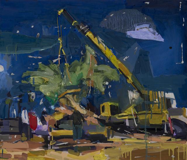 , 'Hill 6,' 2017, Zilberman Gallery