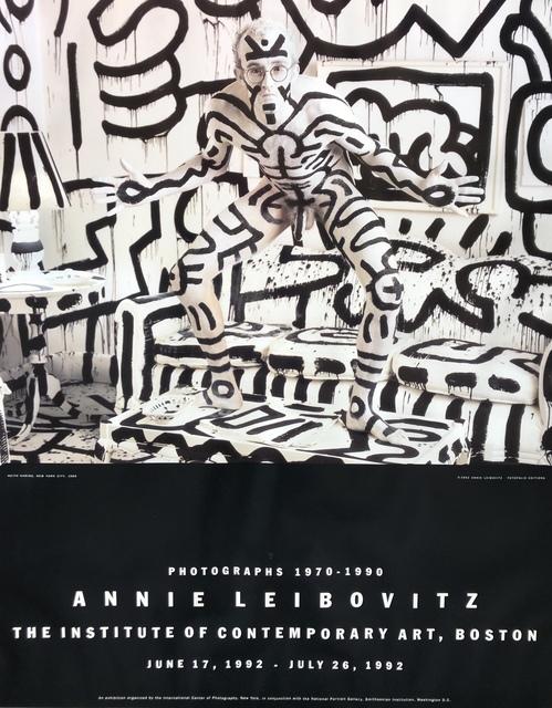 , ' Original Exhibition Poster by Keith Haring,' 1992, Galleria Alfieri