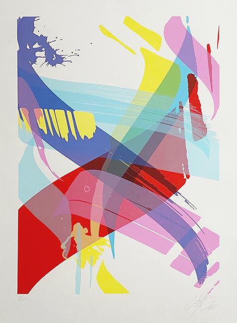 MAD C (Claudia Walde), 'Bits & Pieces', 2015, Print, 6 colour serigraph on Arches paper, AURUM GALLERY