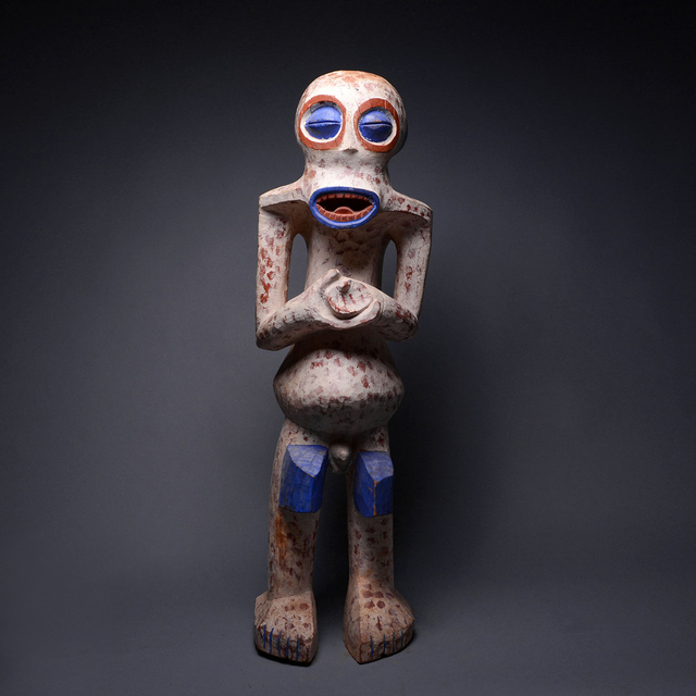 Unknown African, 'Bangwa Wooden Polychrome Sculpture', 20th Century AD, Barakat Gallery
