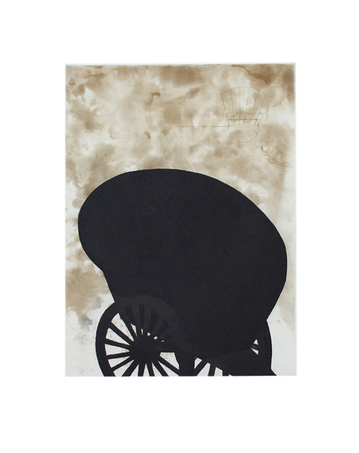 , 'Black Cart,' 2008, Senior & Shopmaker Gallery