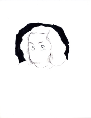 , 'S.B.,' 1989, A3 Arndt Art Agency